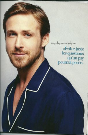 French magazines with Ryan Gosling