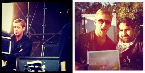 Ryan Gosling at the FUN FUN FUN FEST in Austin, Texas