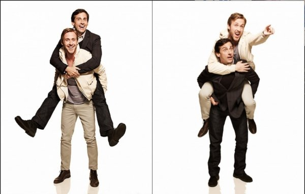 Roberta Scroft photoshoot with the Crazy Stupid Love cast (Ryan Gosling)