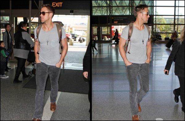Ryan a l'aeroport de LAX le 10 décembre