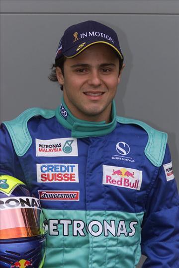 2002-2005 : débuts en Formule 1 chez Sauber pour Felipe Massa