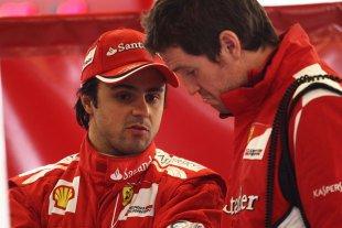 En 2008, Felipe Massa est vice-champion du monde de Formule 1 avec Ferrari...
