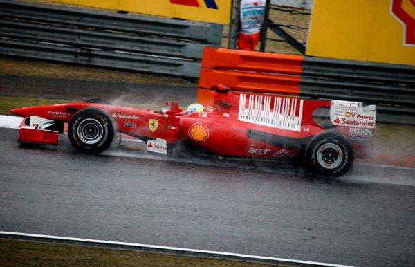 En 2010, Felipe Massa est toujours chez Ferrari avec Fernando Alonso comme coéquipier...