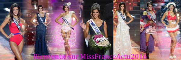 """"""" Venez découvrir Miss France 2016 et on se retrouve en juin pour les prochaines élections """""""
