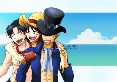 """Luffy et Ace """"frangins un jour, frangins toujours"""""""