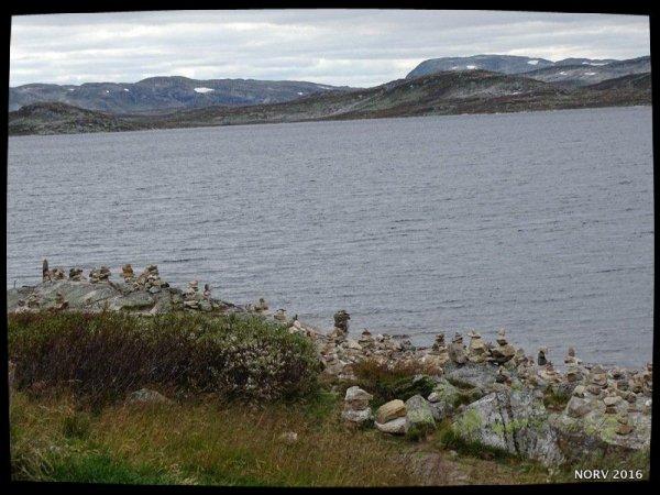 Norvège sept. 2016 - Les cairns