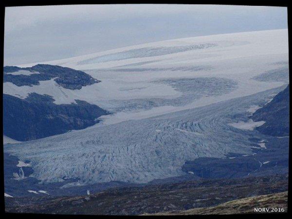 Norvège 2016 - Glacier HARDANGER  JØKULEN