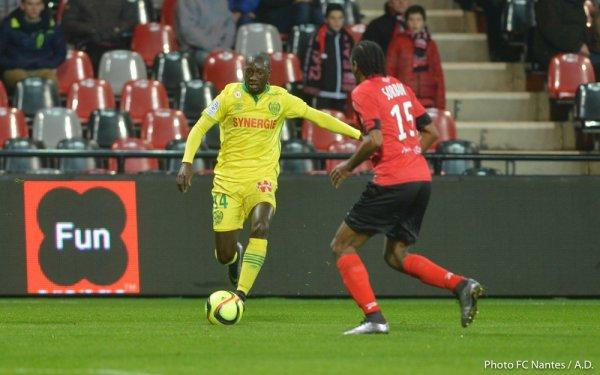 Maillot Guingamp porté par Jérémy Sorbon saison 2015 - 2016