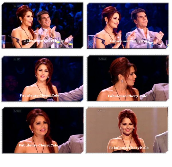 Cheryl allant au studio de x-factor le 17  octobre