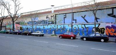 Tout-Samplement graff (rue des pyrénées)