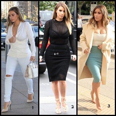 [ Look Book N°1 ] : Le début de l'année de Kim Kardashian
