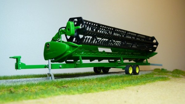 Charriot porte coupe grand longueur couleur john deere