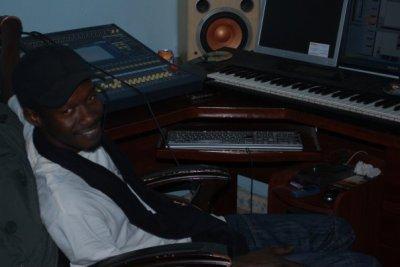dans mon home studio