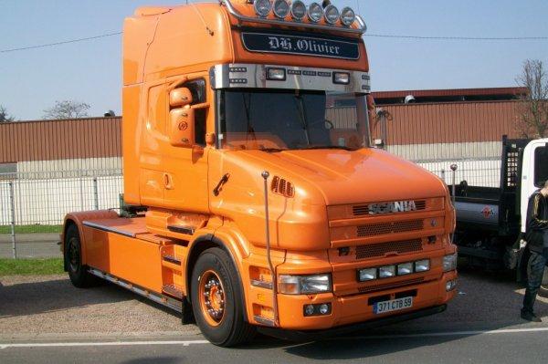 Scania Torpédo 'Transport Olivier'
