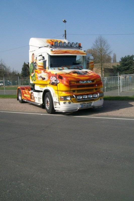 Scania Torpédo 'Transport Courouble'