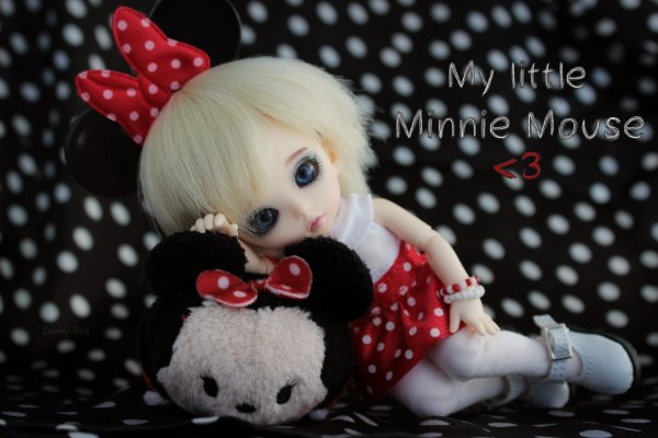 My little Minnie Mouse ♪