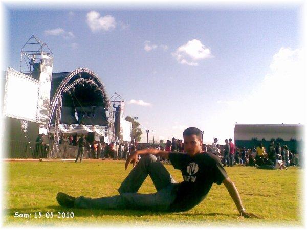 moi dans boulvard CaSablanca 2010