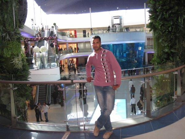 moi dans morocco mall