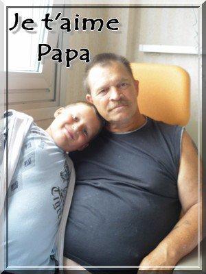 :) Je t'aime papa :)