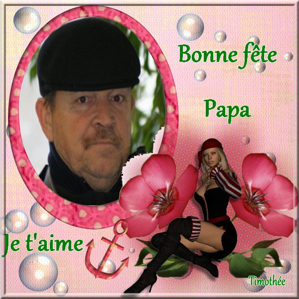 :) Bonne fête à mon papa :)