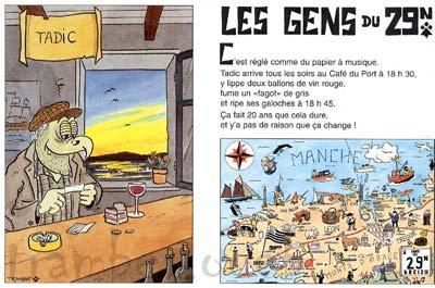 Gérard Jaffrès / Au café du port (1999)