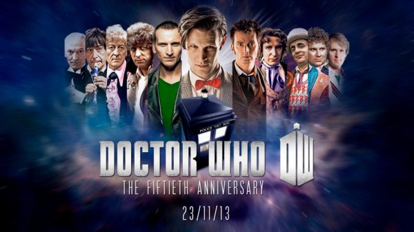 Happy 50th Doctor Who Anniversary!