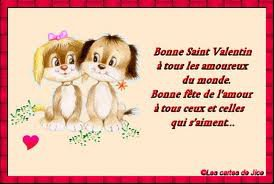 Joyeuse st Valentin tout le monde !!! ^^