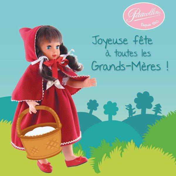 Bonne Fête des grand- mères!