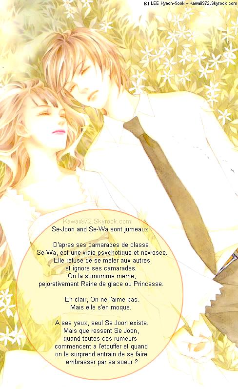 __Flowers Of Evil__ Mon cher frère. Tu es mien, et uniquement mien.