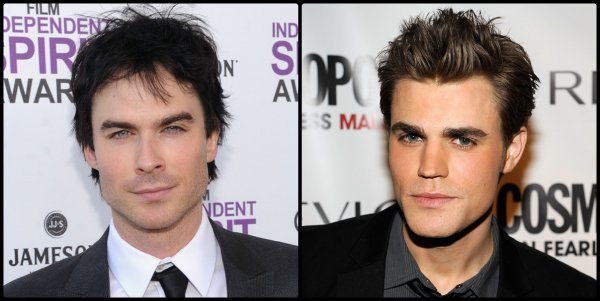 Ian Somerhalder VS Paul Wesley