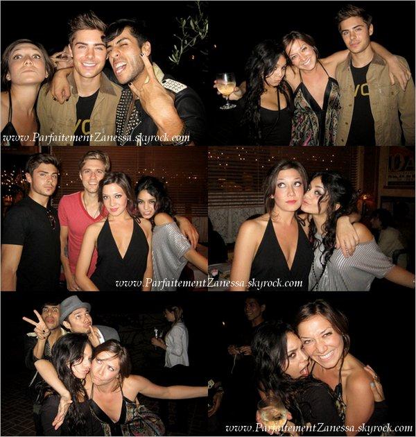 xx.08.2010 // Découvrez quelques photos de nos amoureux à l' after- party de Rent ( Voir photos ? ) en août dernier Comment trouvez- vous les photos ? :)