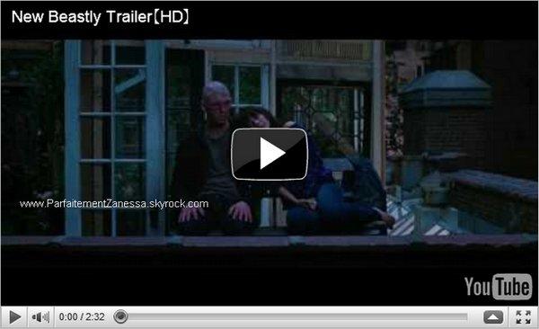 2010 // Nouvelle bande annonce officielle pour Beastly, le film de Vanessa Alors hâte ? Moi oui ^_^
