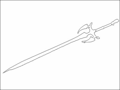 Coloriage D Une Epee Coloriages