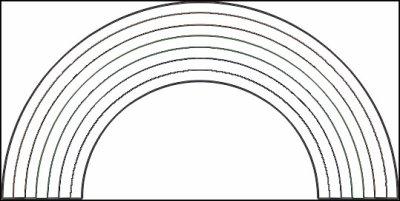 Coloriage d 39 arc en ciel coloriages - Coloriage d arc en ciel ...
