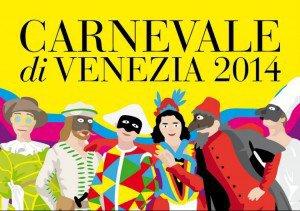 Affiche du Carnaval de Venise 2014