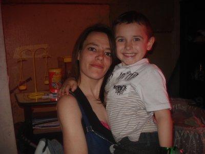 mon fils lorenzo et sa maraine