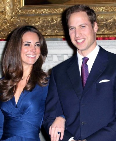 Photos officielles de l'annonce des fiançailles de Kate & William