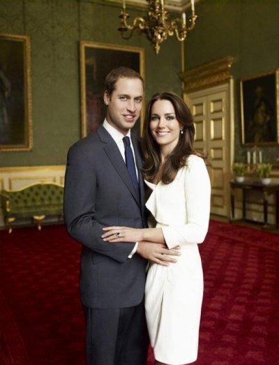 Une autre photo officielle de Kate & William
