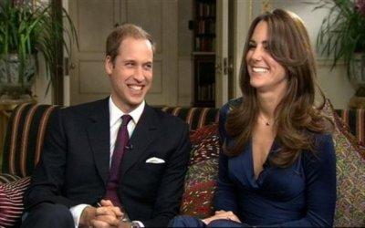 Conférence de presse pour l'annonce des fiançailles de Kate & William