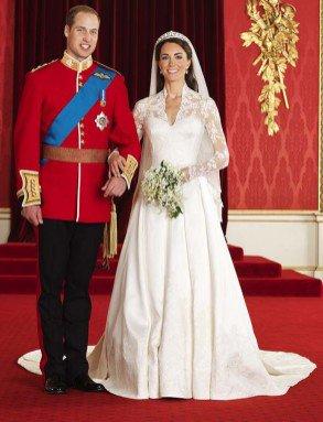 Les photos officielles des jeunes mariés : Kate & William