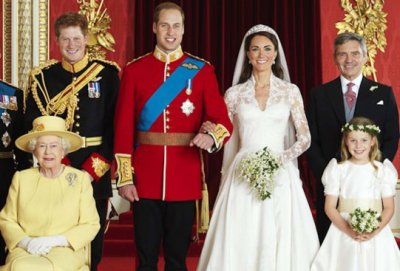 Une autre photo officielle du mariage princier