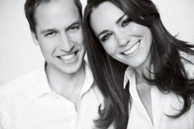 Dernière photo officielle du Prince William & Kate Middleton avant leur mariage