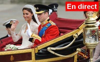 Le Duc et la Duchesse saluent la foule