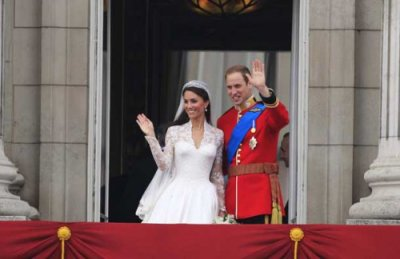 Kate & William au balcon