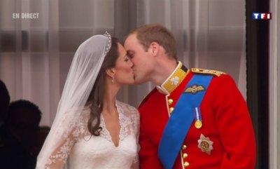 Le baiser de Kate & William