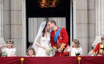 William a embrassé Kate une deuxième fois