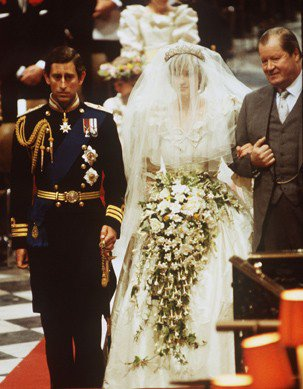 Quelques photos du mariage royal de Diana & Charles