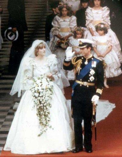 La première sortie officielle des mariés : Diana & Charles