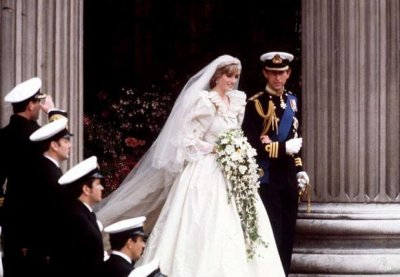 Les mariés Diana & Charles