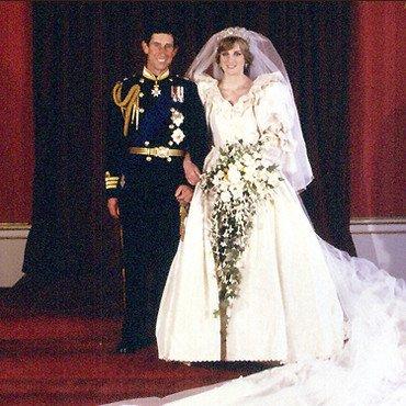 Les photos officielles du mariage royal de Diana & Charles